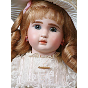 """20"""" Super Sweet Blue-Eyed Jules N. Steiner Fre A Bebe with Closed Mouth"""