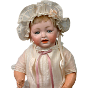 """Adorable Hertel & Schwab 152 Antique Character Baby 14.5"""""""