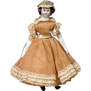 "The Delightful 5"" Dollhouse Antique China Girl in Full Original Costume"