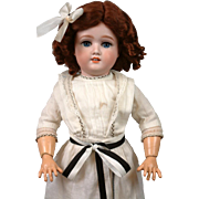 "Darling 19.5"" Schoneau & Hoffmeister 1909 Antique Girl Doll"