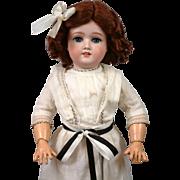 "Darling 19.5"" Schoneau & Hoffmeister 1909 Antique Girl Doll"