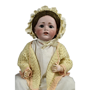 """21"""" Adorable Antique Kestner JDK 257 Character Baby ~Display Ready & LIFE SIZED~"""