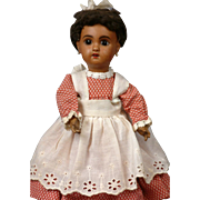"Charming 28cm (11"")  SFBJ Black Brown Mulatta Jumeau Bebe Size 1-Just Delightful"