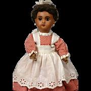 "Charming 28cm (11"")  SFBJ Black Brown Mulatta Jumeau Bebe Size 1-Just Delightful"