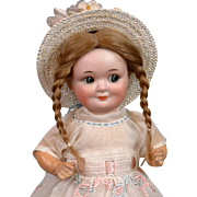 "Adorable  Larger 10"" Antique German Demalcol ""Googly"" Doll"