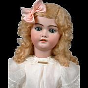 """26"""" Simon & Halbig 1079 Antique Bisque Girl in Antique Costume"""