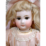 """Angelic 12.5"""" Sonneberg Bebe Incised 117 With Premiere Portrait Face~All Antique!"""