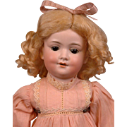 "Darling Baby Betty 17"" Armand Marseille Doll in 100% Antique Costume"
