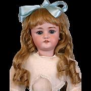 "23.5"" CM Bergmann Simon & Halbig Antique Doll on Near-Mint Body"