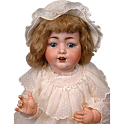 """Konig & Wernicke 99 Antique Character Baby 25"""" with Head Circumference 16"""""""
