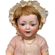 "Kestner 226 Antique Character Baby 14"" on Near-Mint Body"