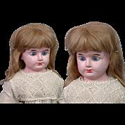 "SUPER RARE Webber Musical Doll Papier Mache 21"" Antique Doll by Massachusetts Organ Co. c.1883"