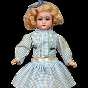 """9.75"""" Kammer & Reinhardt / S&H Antique Bisque Cabinet-Sized Doll"""