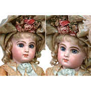 "18.5"" Fabulous  E8J  Jumeau Bebe  signed  ""Laura 1885"" Perfect & So Stunning"
