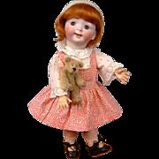 "Delightful 12.5"" Hertel & Schwab 165  ""Jubilee Googly"" Toddler c1914—So Cute!"