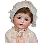 Jutta Character Baby by Cuno Otto Dressel Antique Bisque Doll 22""