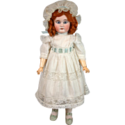 """Antique Sonneberg German Bebe with Near-Perfect Body 19"""" for French Trade"""