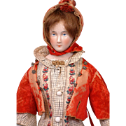 Exemplary China Lady by Lippert & Haas of Schlaggenwald with Outstanding Trousseau C. 1865