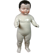 "Rare Face Frozen Charlie 18.5"" China ""Bathing Doll"" in Near-Mint Condition"