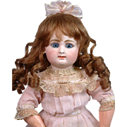 "The Most Adorable 15.5"" Rabery & Delphieu Block Letter Bebe~Near Mint!"