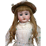 "Karl Hartmann 285 Antique Child Doll 15"" on Near-Mint Body in Original Costume"