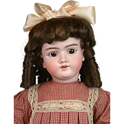 "Lovely Handwerck 99 DEP 26"" Antique Bisque Child on Near-Mint Body"