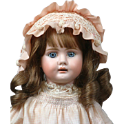 "18.5"" Gorgeous Bahr & Proschild 224 German Antique Doll for the French Trade--Adorable Presentation!!"