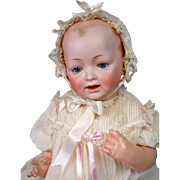 "Near-Mint Kestner ""Baby Jean"" Antique Character Baby 20"" in Antique Gown"