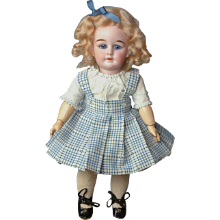 """11.5"""" Delectable Peter Scherf Antique Doll Made in Sonneberg, Germany c 1910"""