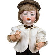 """23"""" Darling Dimpled German Antique Character Toddler Boy Doll Mold 522"""