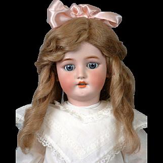 "CM Bergmann 26"" Antique Bisque Doll on Near-Mint Body"