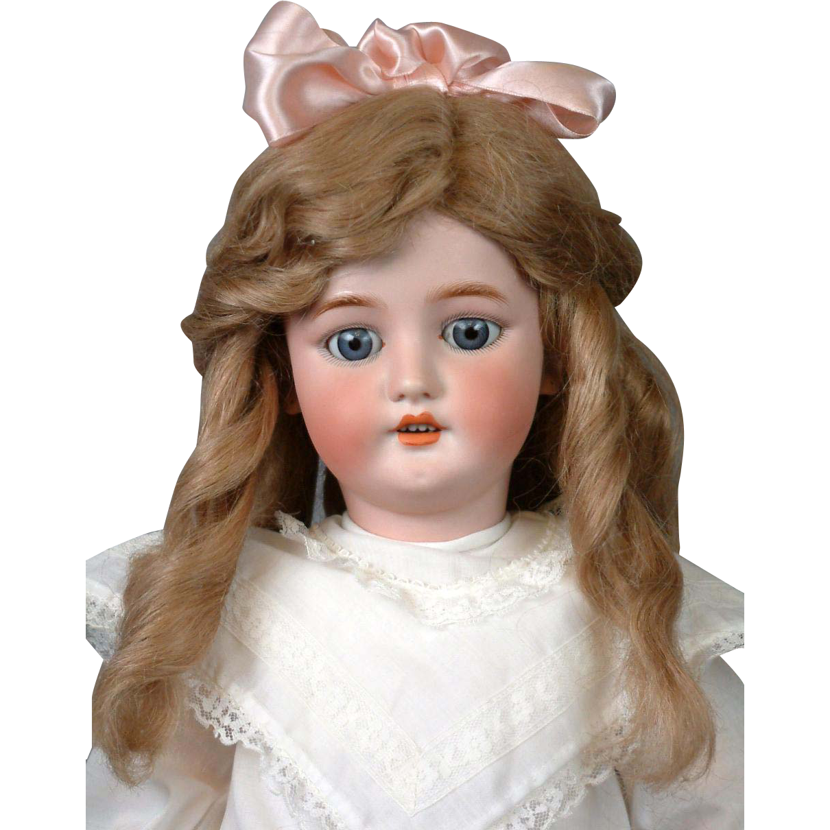 "CM Bergmann 26"" Antique Bisque Doll on Near-Mint Body"