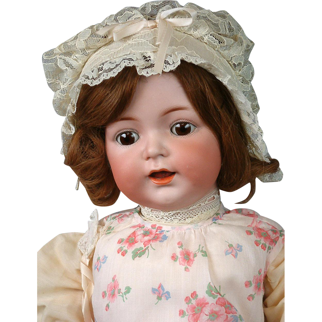 "Exceptional Kammer & Reinhardt 122 Antique Bisque Toddler Girl 24"" with Human Hair Wig"