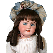 """Precious French Lanternier Limoges Bebe Antique Doll in Sweet Costume 22"""""""