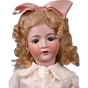 "Endearing ""Revalo"" Antique Bisque Doll 19"" by Gebruder Ohlhaver"