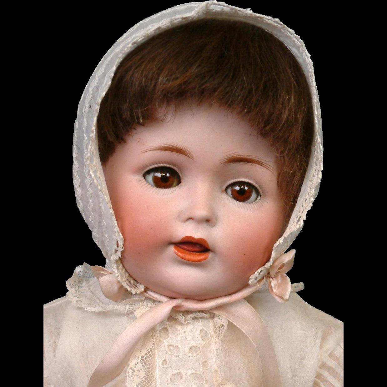"""FACTORY ORIGINAL Kestner 257 Antique Toddler Character 18"""""""