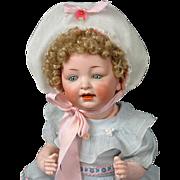 "Endearing Hertel & Schwabb 152 Character Baby 14.5"""