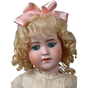 "Simon & Halbig 550B Antique Bisque-Head Doll 22.5"" in Antique Costume"