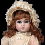 """10"""" Jules. N. Steiner « Le Petit Parisien »  French Bebe in Petite Size 3"""