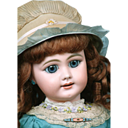 "20.5""    Very Rare  Simon & Halbig 749 Antique Doll for the French Trade"