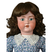 "Massive 33"" Armand Marseille 390 Antique Doll in Cute Costume"