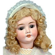 "27"" Captivating Kley & Hahn Walküre/Walkure Antique Doll c 1900"