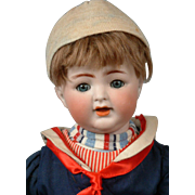 "12.5"" Kammer & Reinhardt 126 Toddler Boy Doll in the cutest sailor costume!"