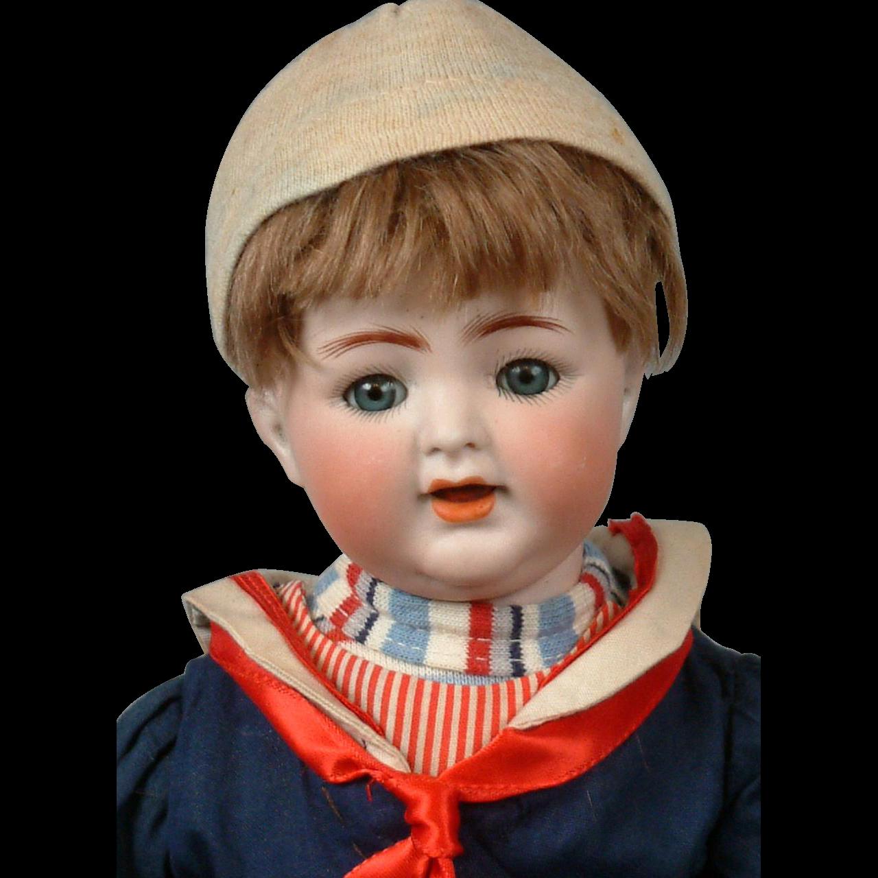 "12.5"" Kammer & Reinhardt 126 Toddler Boy Doll in the cutest sailor costume!"