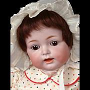 "Adorable Kammer & Reinhardt 122 Antique Bisque Character Baby 17.5"""