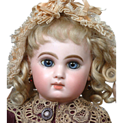 "18.5"" Fabulous E8J Jumeau Bebe signed ""Laura DEC. 1885"" Perfect & So Stunning"