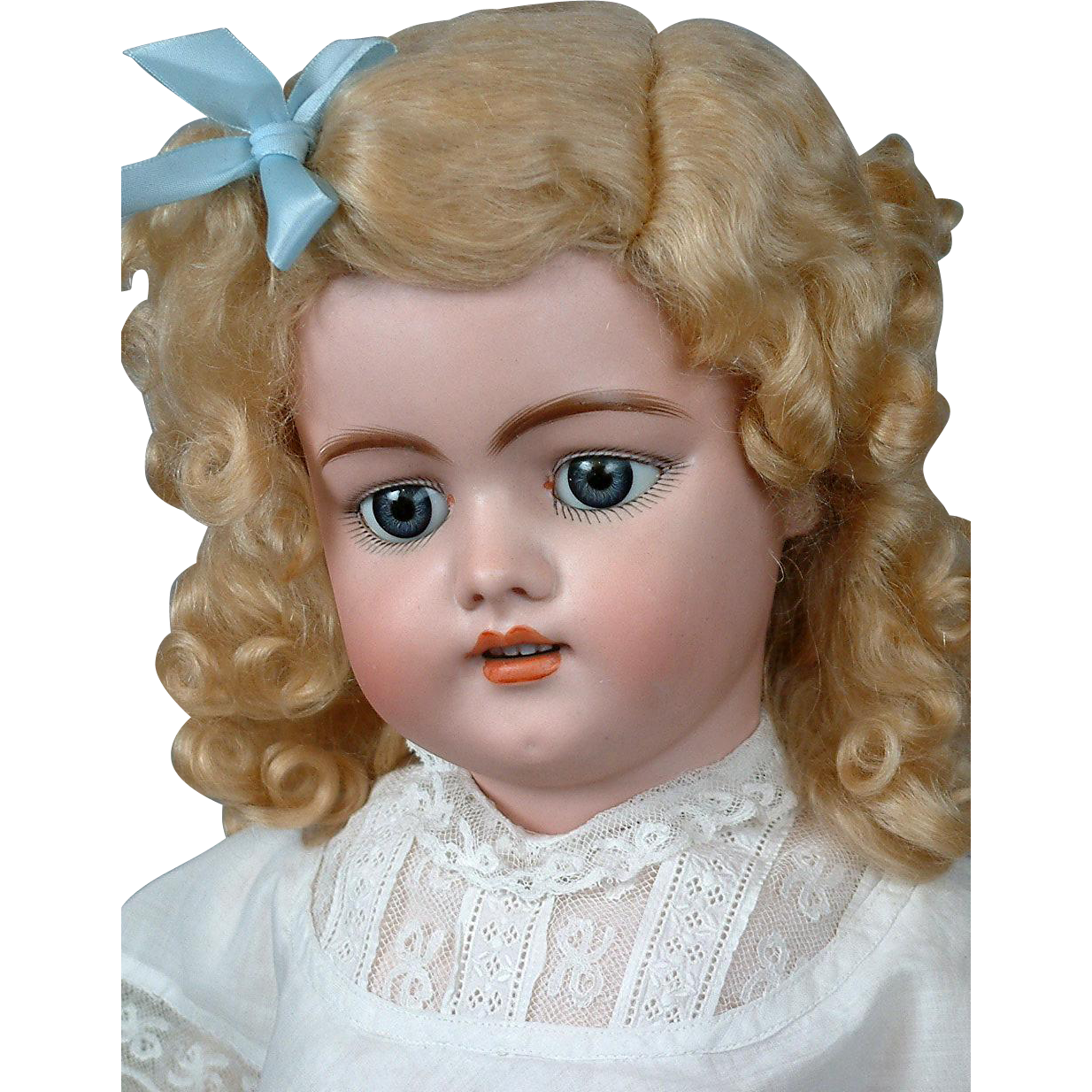 "*Blond & Beautiful* Simon & Halbig 1079 24"" Antique Bisque Doll"