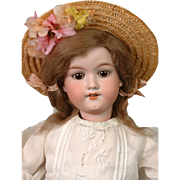 *The Dearest* Armand Marseille 390n Antique Bisque Doll in Original Wig