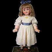 "*HUGE* 33"" SFBJ UNIS 301/Tete Jumeau Antique Bebe on Original Stamped Jumeau Body"