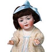 "*The Cherub* George Borgfeldt Character Baby 24"" in Darling Silk Dress"